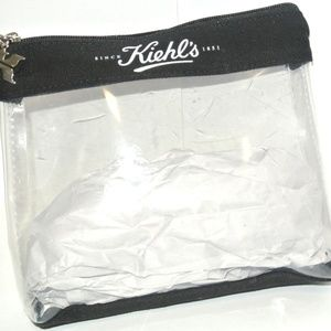 3/$15 Kiehl's Clear Vinyl Travel Cosmetic Bag